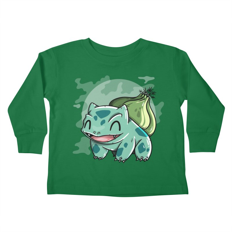 Bulbasaur Kids Toddler Longsleeve T-Shirt by mebzart's Artist Shop