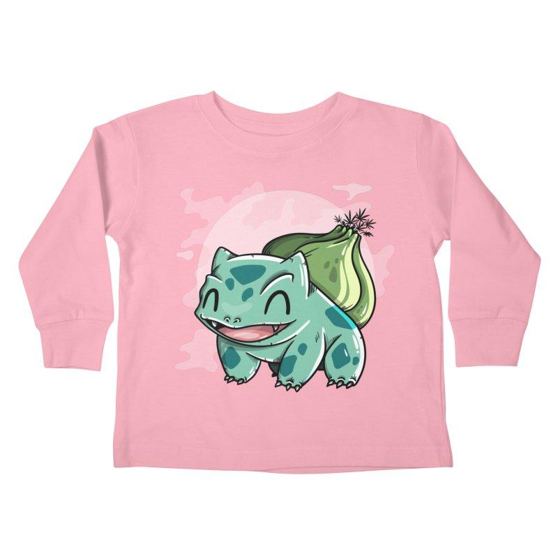 Bulbasaur Kids Toddler Longsleeve T-Shirt by mebzart's Artist Shop