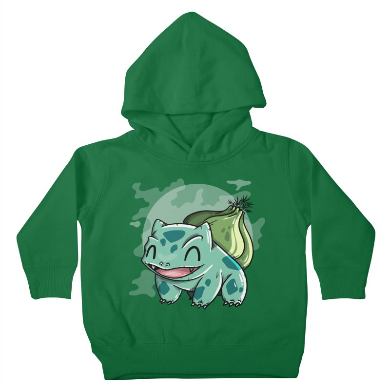Bulbasaur Kids Toddler Pullover Hoody by mebzart's Artist Shop