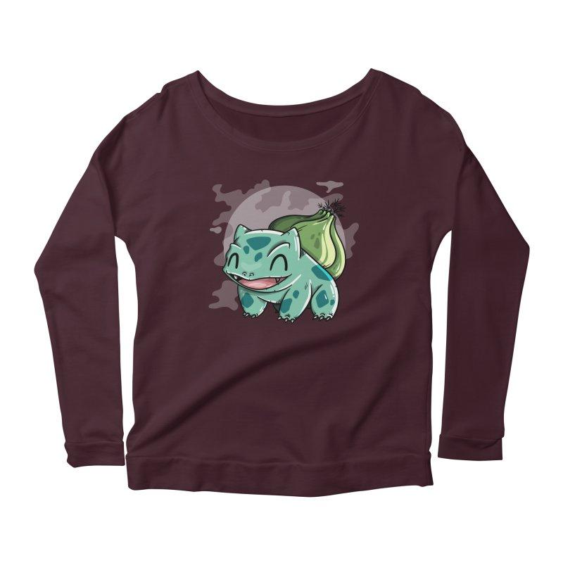 Bulbasaur Women's Longsleeve T-Shirt by mebzart's Artist Shop