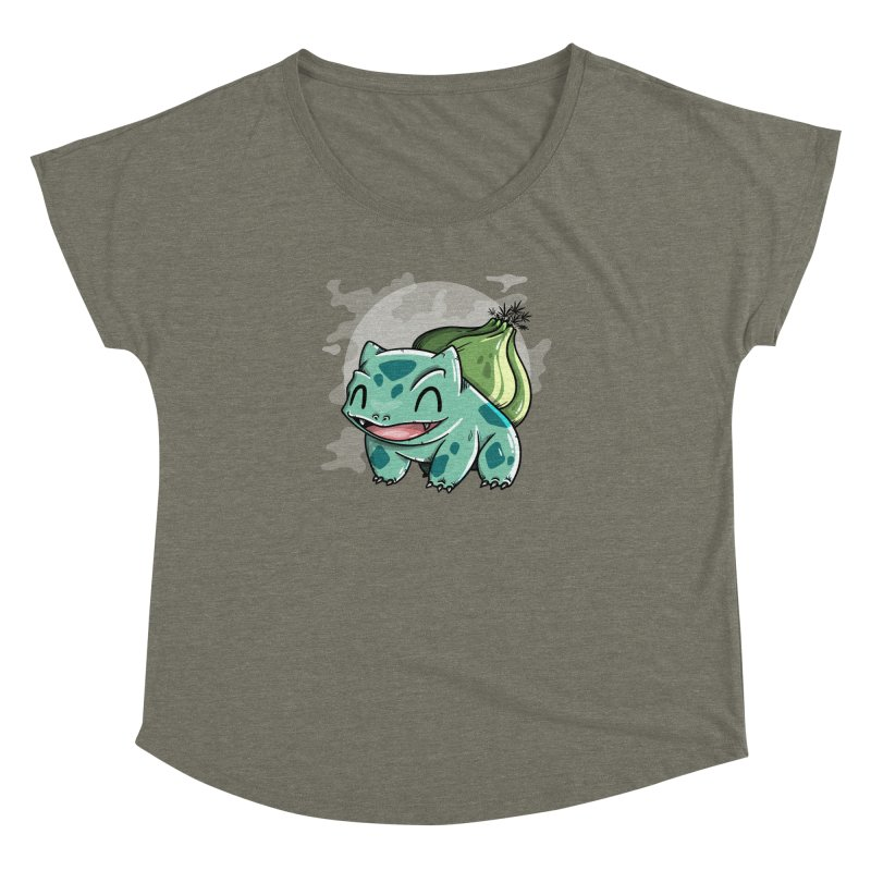 Bulbasaur Women's Scoop Neck by mebzart's Artist Shop