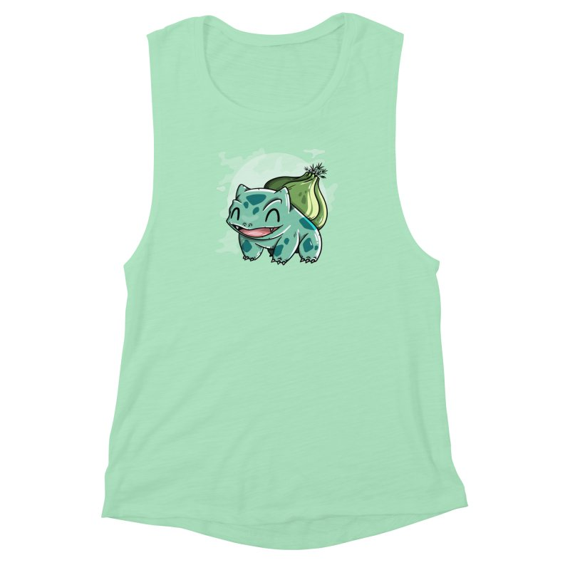 Bulbasaur Women's Muscle Tank by mebzart's Artist Shop