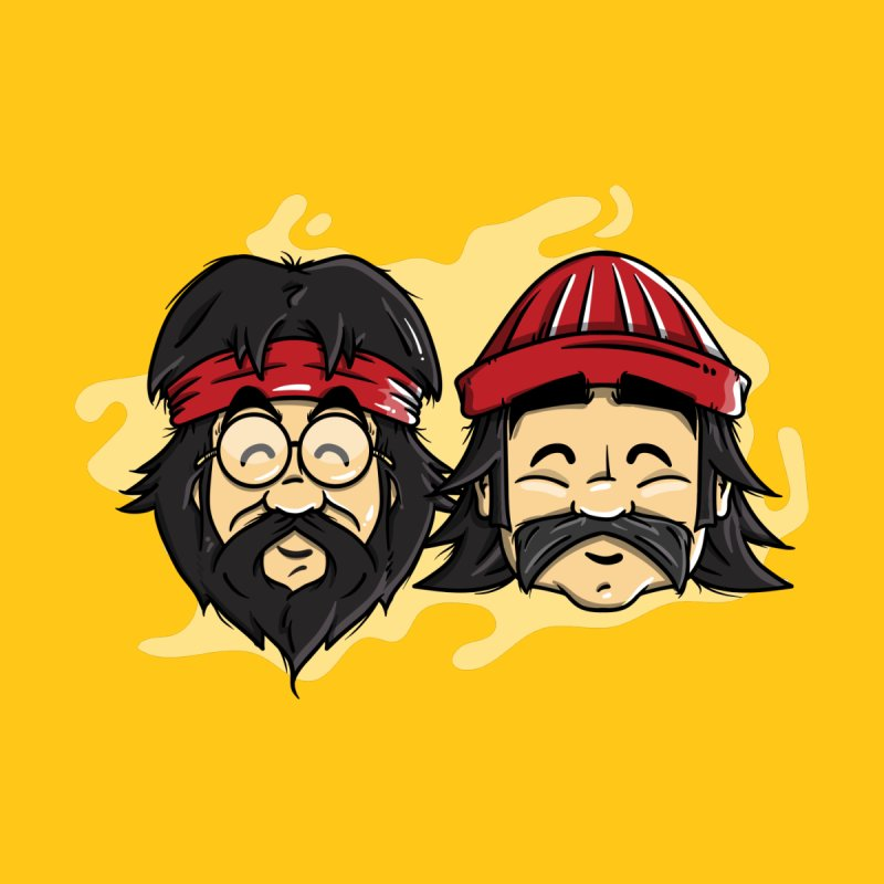 Cheech & Chong Men's T-Shirt by mebzart's Artist Shop