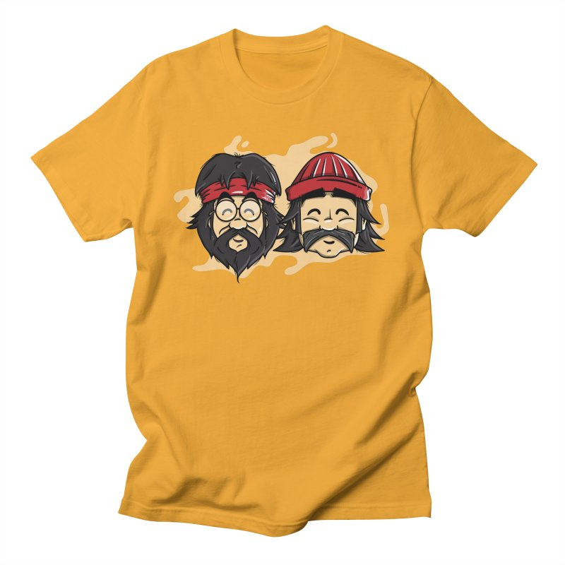 Cheech & Chong Men's Regular T-Shirt by mebzart's Artist Shop