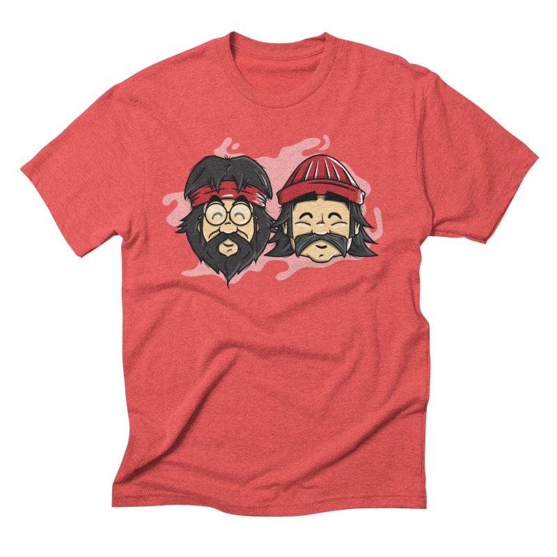 Cheech & Chong Men's Triblend T-Shirt by mebzart's Artist Shop