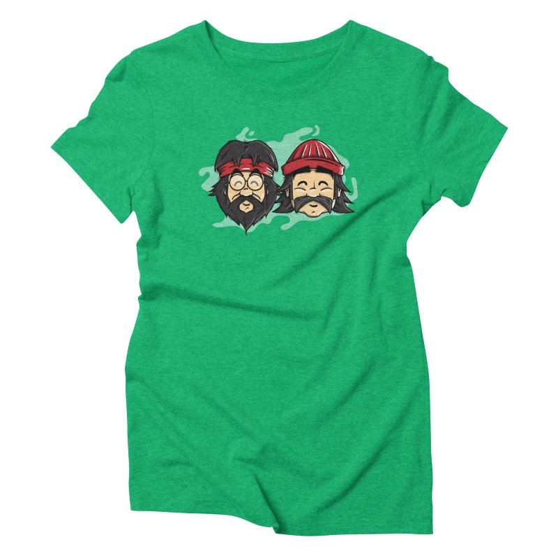Cheech & Chong Women's Triblend T-Shirt by mebzart's Artist Shop