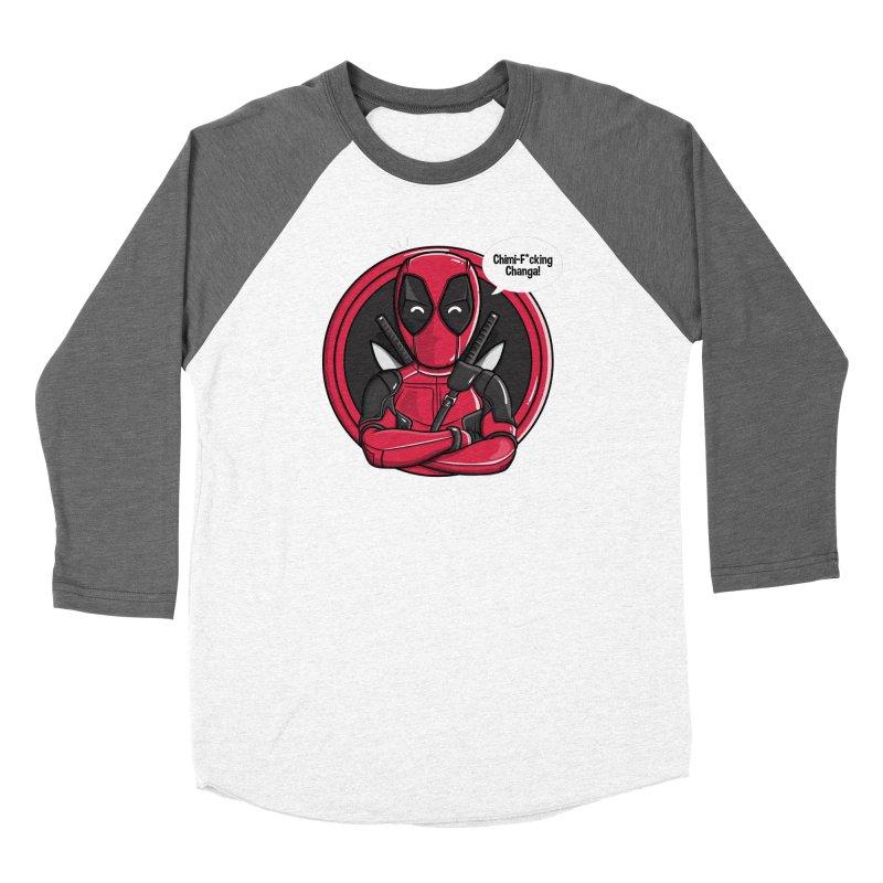 Chimi-F*cking-Changa! Women's Baseball Triblend Longsleeve T-Shirt by mebzart's Artist Shop