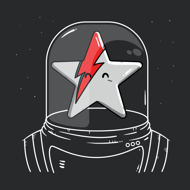 Starman Women's T-Shirt by mebzart's Artist Shop