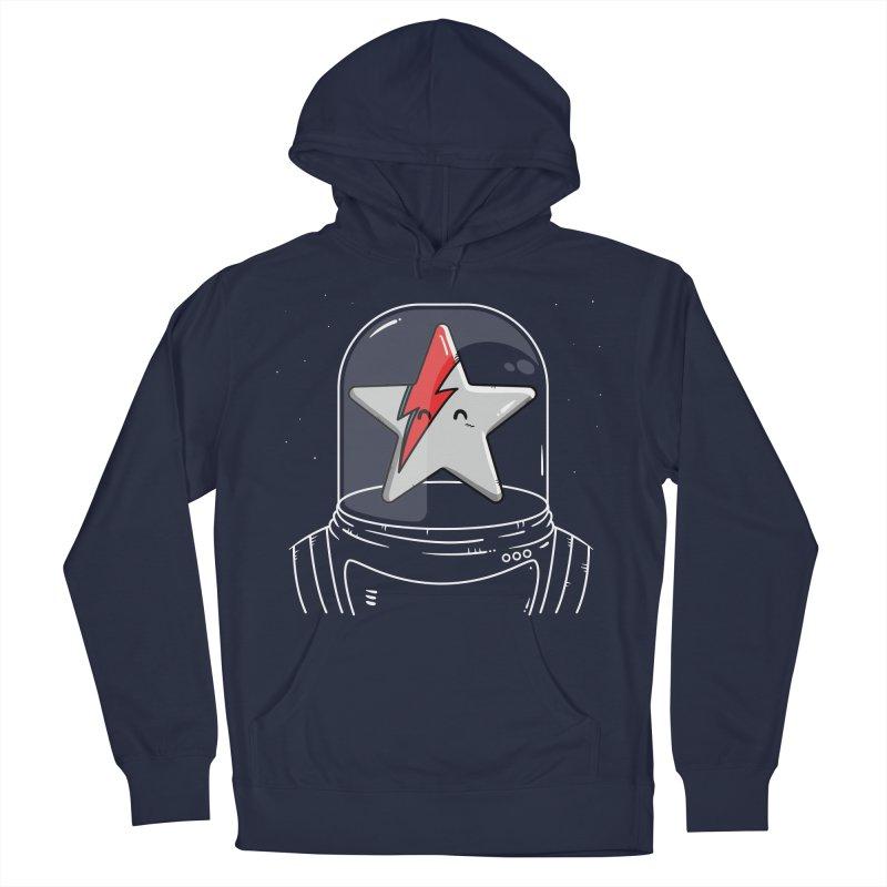 Starman Men's Pullover Hoody by mebzart's Artist Shop