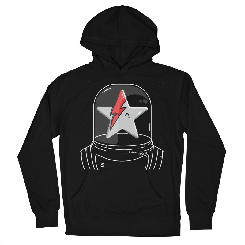 Starman Men's French Terry Pullover Hoody by mebzart's Artist Shop