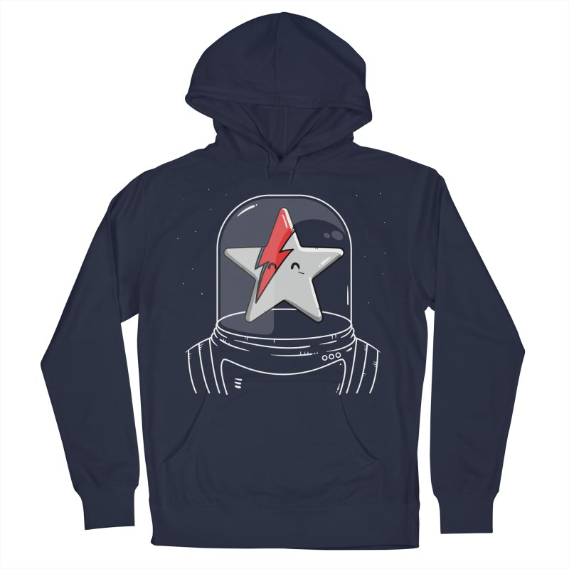 Starman Men's Pullover Hoody by mebzart's Artist Shop