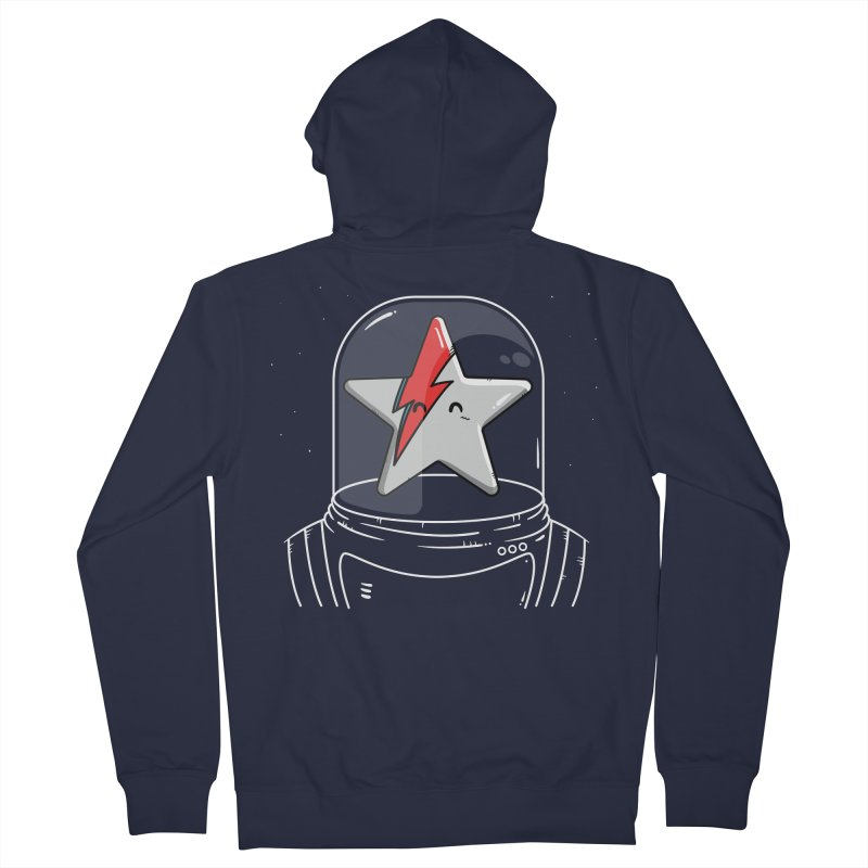 Starman Women's French Terry Zip-Up Hoody by mebzart's Artist Shop