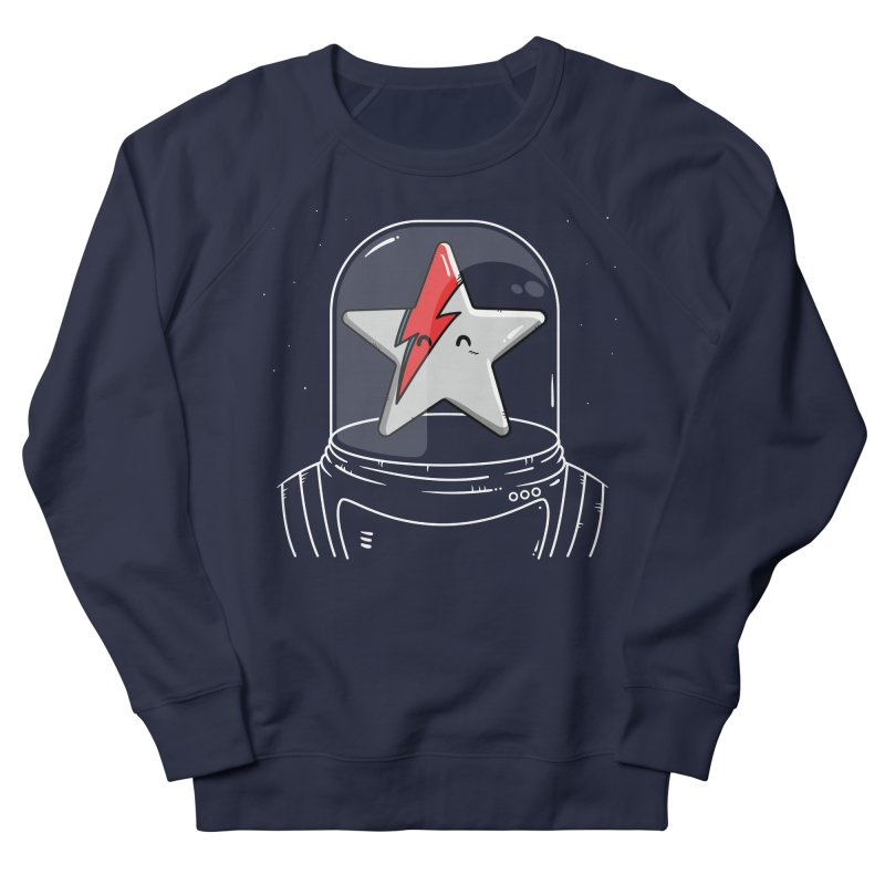 Starman Women's French Terry Sweatshirt by mebzart's Artist Shop