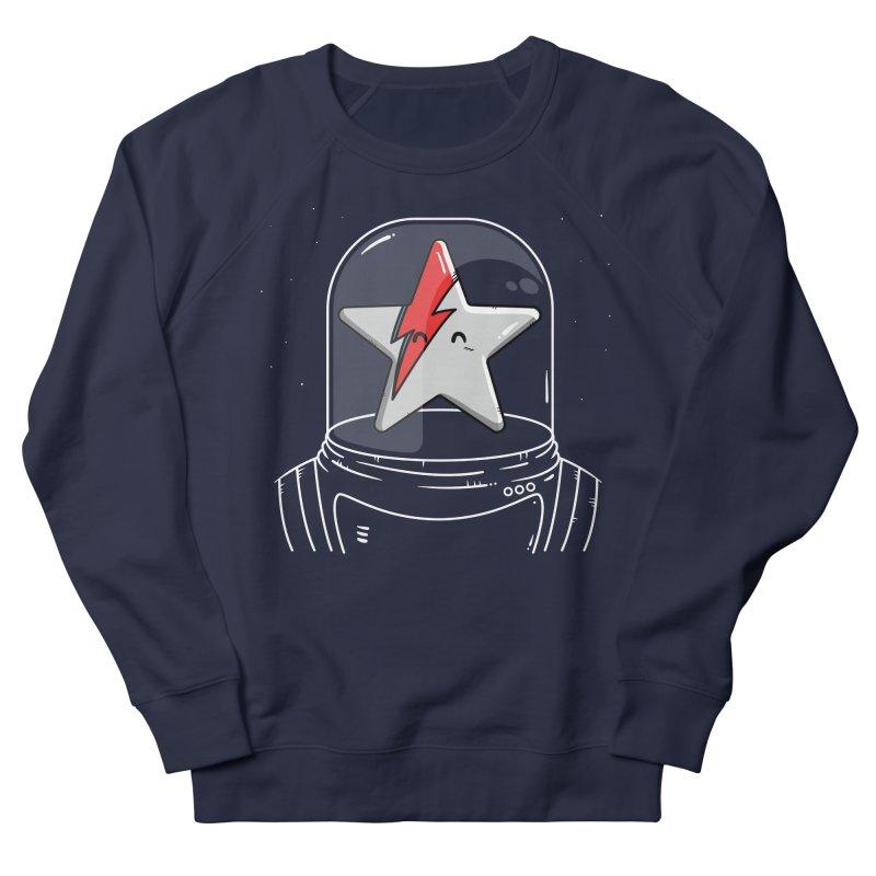 Starman Men's French Terry Sweatshirt by mebzart's Artist Shop