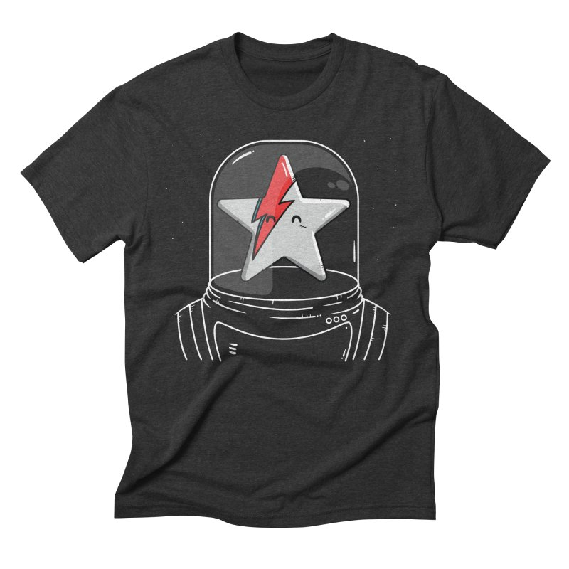 Starman Men's Triblend T-shirt by mebzart's Artist Shop