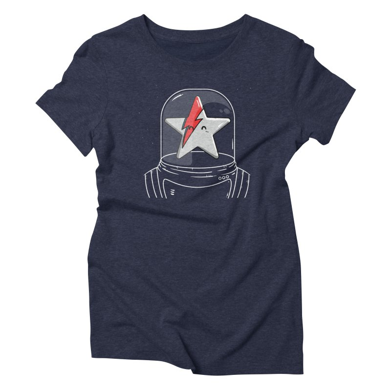 Starman Women's T-Shirt by mebzart's Artist Shop