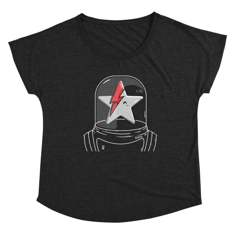 Starman Women's Dolman Scoop Neck by mebzart's Artist Shop