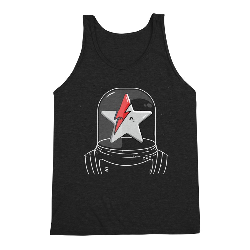 Starman Men's Triblend Tank by mebzart's Artist Shop