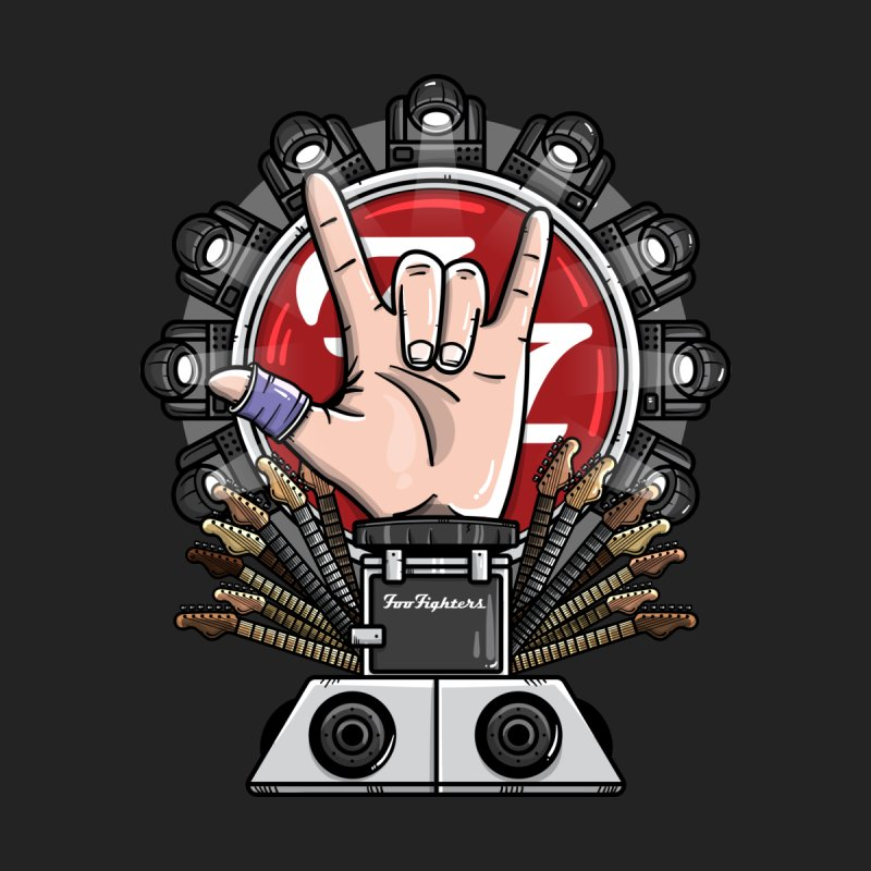 Dave Grohl's Badass Throne Women's Scoop Neck by mebzart's Artist Shop