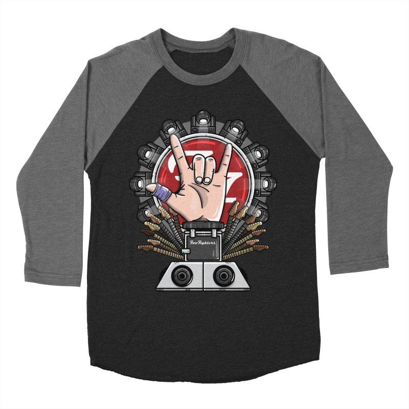 Dave Grohl's Badass Throne Women's Longsleeve T-Shirt by mebzart's Artist Shop