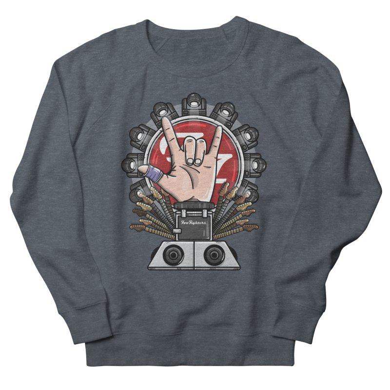 Dave Grohl's Badass Throne Women's Sweatshirt by mebzart's Artist Shop