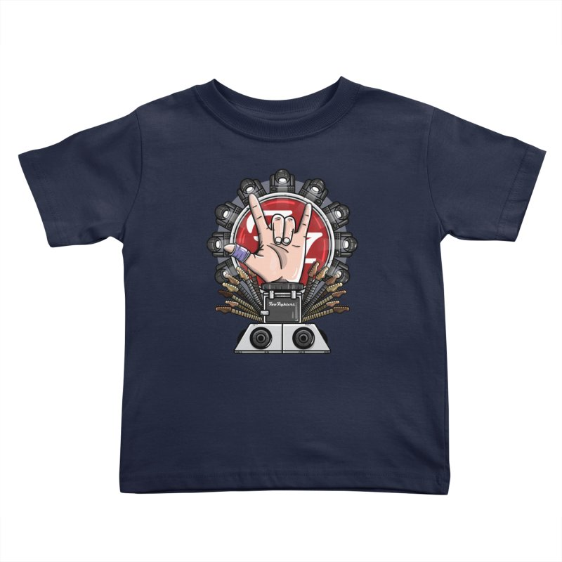 Dave Grohl's Badass Throne Kids Toddler T-Shirt by mebzart's Artist Shop
