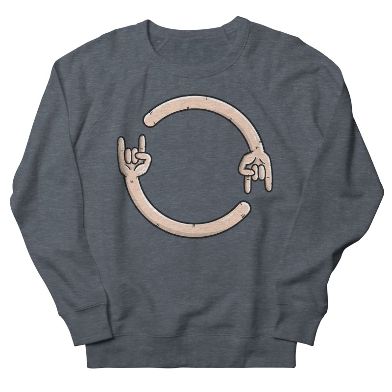 Loading Rock... Men's French Terry Sweatshirt by mebzart's Artist Shop