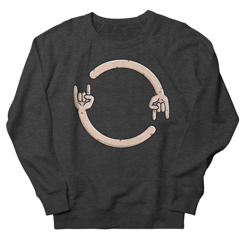 Loading Rock... Men's Sweatshirt by mebzart's Artist Shop