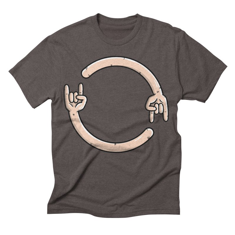 Loading Rock... Men's Triblend T-shirt by mebzart's Artist Shop