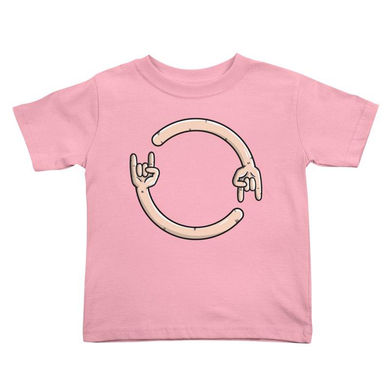 Loading Rock... Kids Toddler T-Shirt by mebzart's Artist Shop
