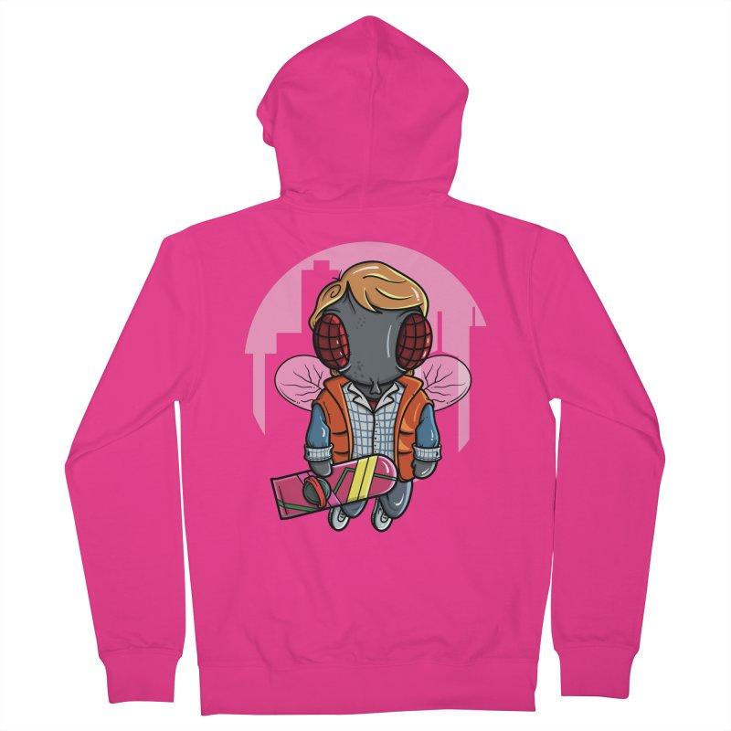Marty McFly Men's Zip-Up Hoody by mebzart's Artist Shop