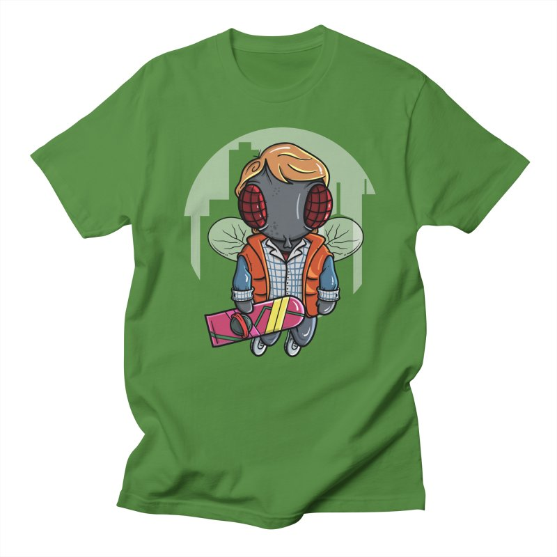 Marty McFly Men's T-Shirt by mebzart's Artist Shop