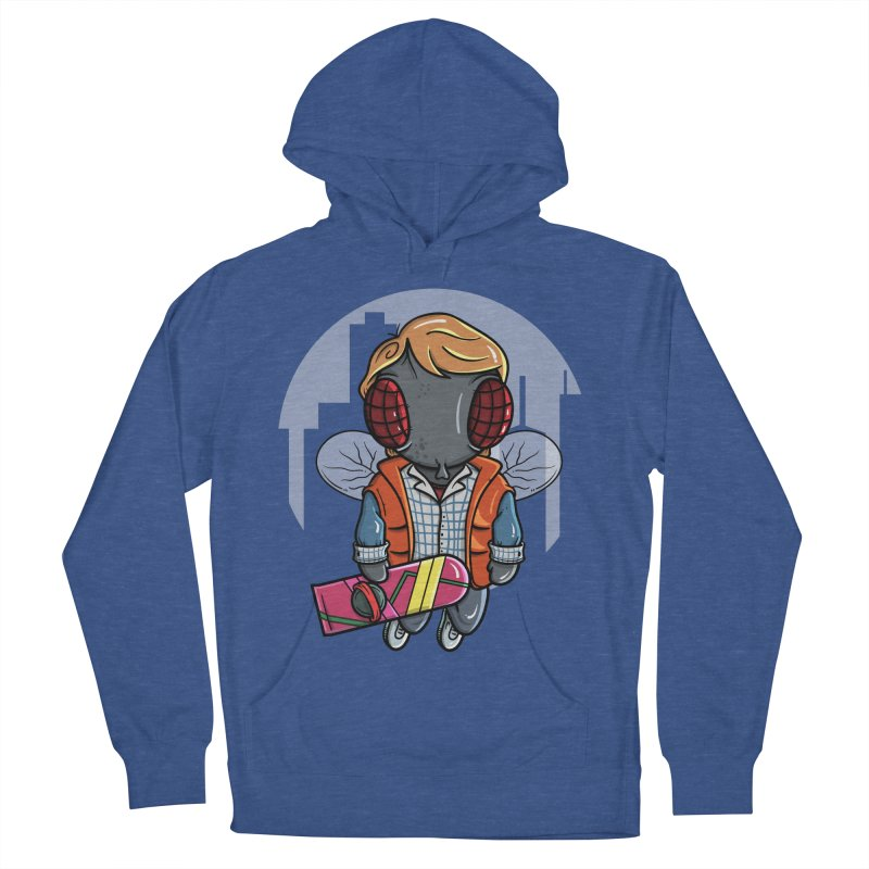 Marty McFly Women's French Terry Pullover Hoody by mebzart's Artist Shop