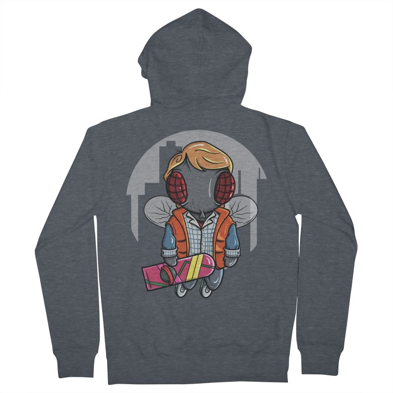 Marty McFly Men's Zip-Up Hoody by mebzart's Artist Shop