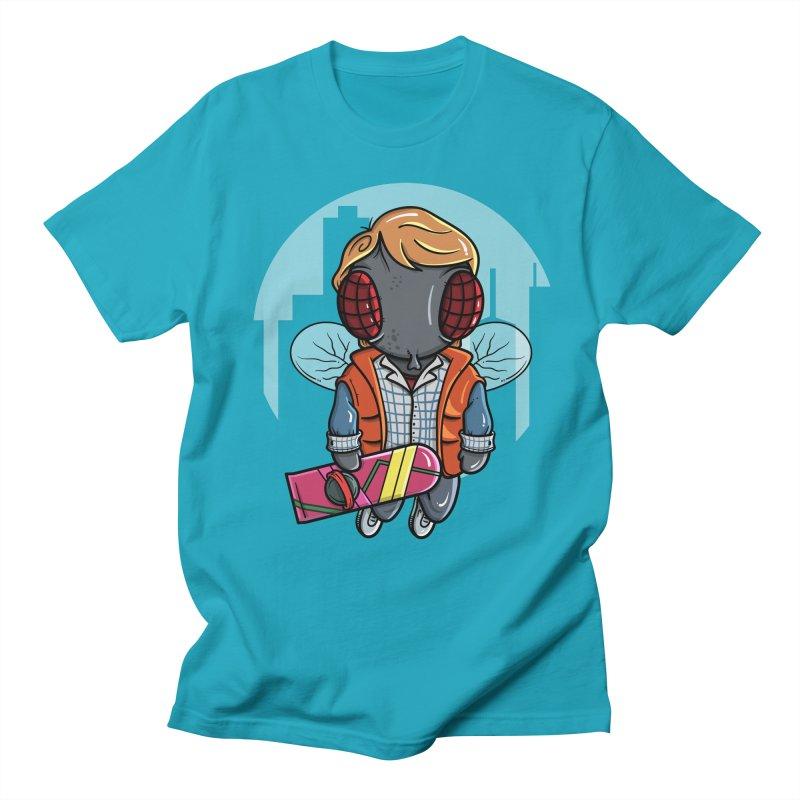 Marty McFly Men's Regular T-Shirt by mebzart's Artist Shop