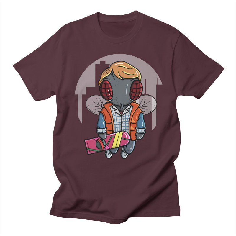 Marty McFly Men's Regular T-Shirt by mebzart's Artist Shop