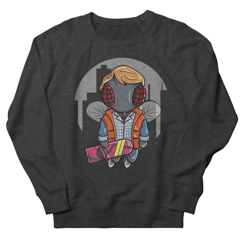 Marty McFly Men's French Terry Sweatshirt by mebzart's Artist Shop