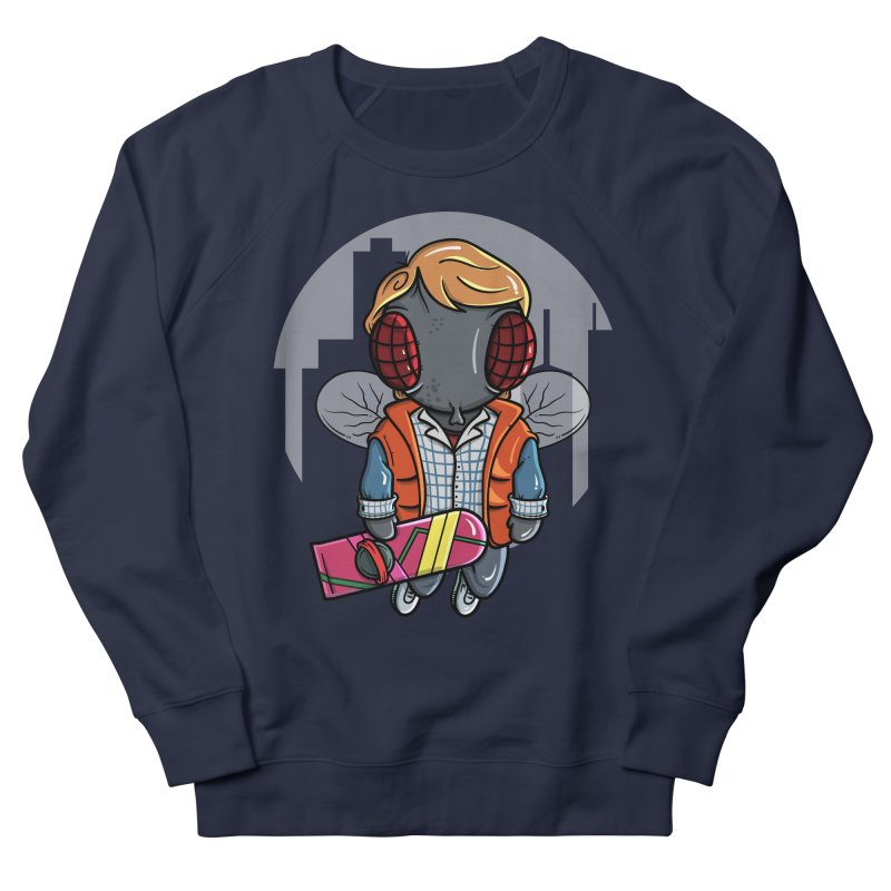 Marty McFly Men's Sweatshirt by mebzart's Artist Shop