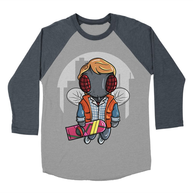 Marty McFly Women's Baseball Triblend Longsleeve T-Shirt by mebzart's Artist Shop