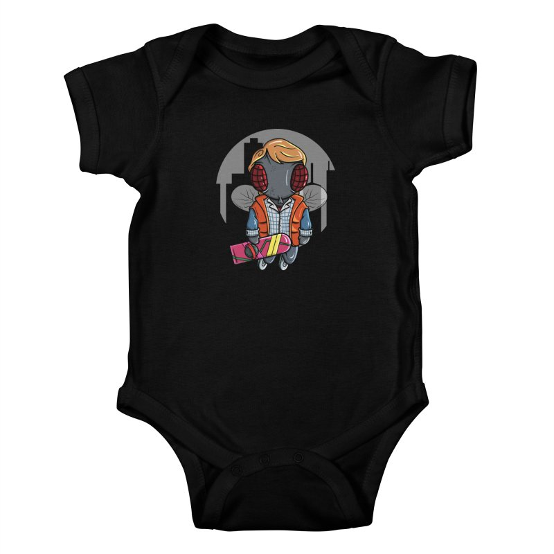 Marty McFly Kids Baby Bodysuit by mebzart's Artist Shop