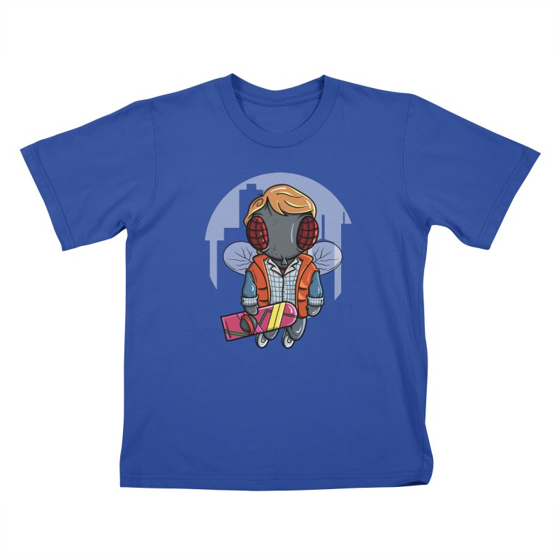 Marty McFly Kids T-Shirt by mebzart's Artist Shop