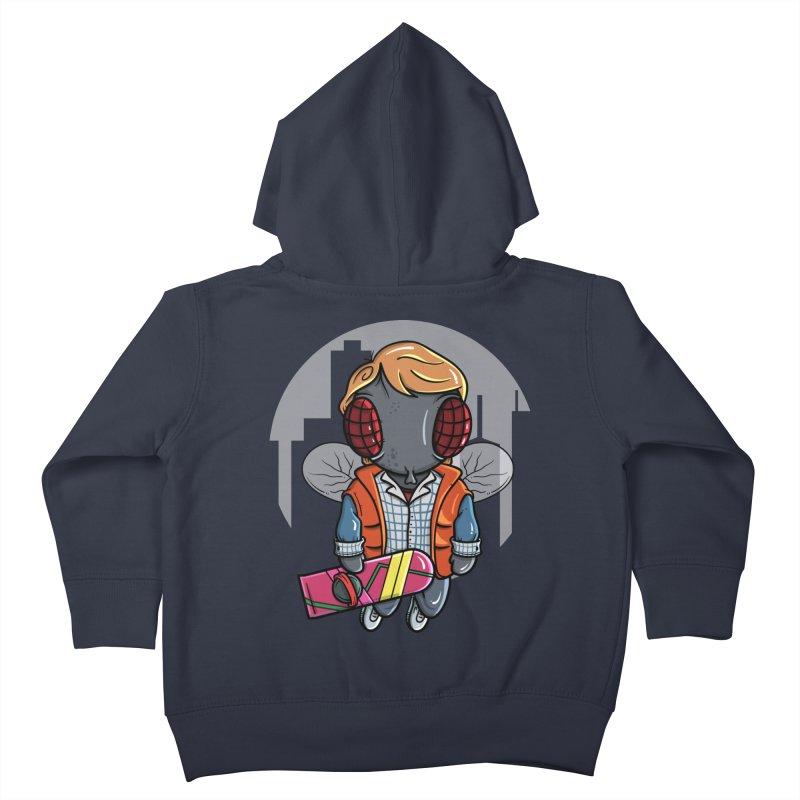 Marty McFly Kids Toddler Zip-Up Hoody by mebzart's Artist Shop