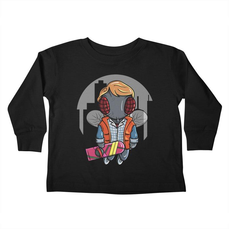Marty McFly Kids Toddler Longsleeve T-Shirt by mebzart's Artist Shop