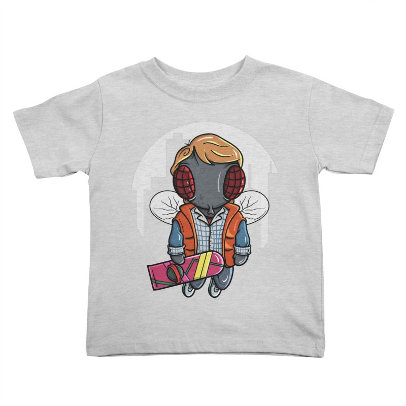 Marty McFly Kids Toddler T-Shirt by mebzart's Artist Shop