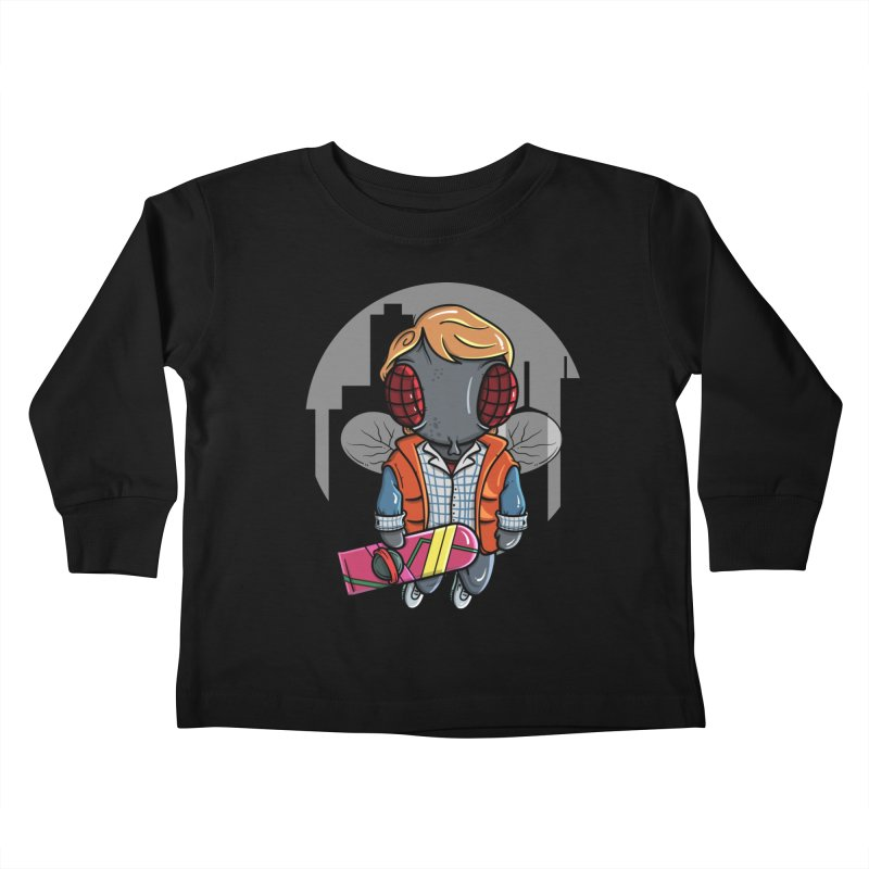 Marty McFly Kids Toddler Longsleeve T-Shirt by mebzart's Artist Shop
