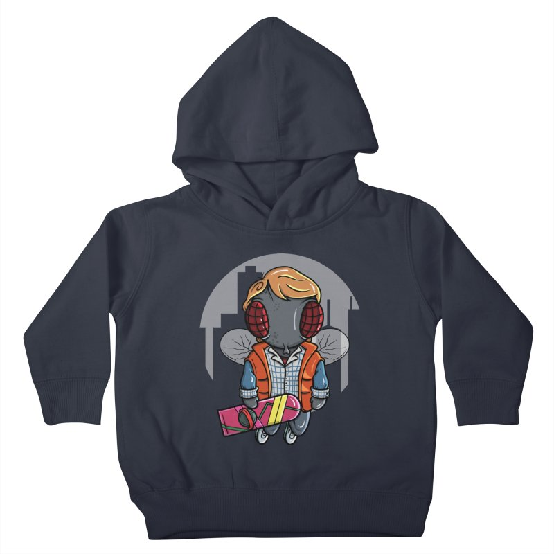 Marty McFly Kids Toddler Pullover Hoody by mebzart's Artist Shop