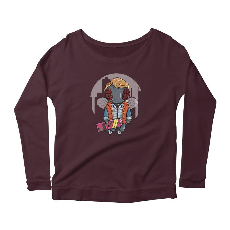 Marty McFly Women's Longsleeve T-Shirt by mebzart's Artist Shop