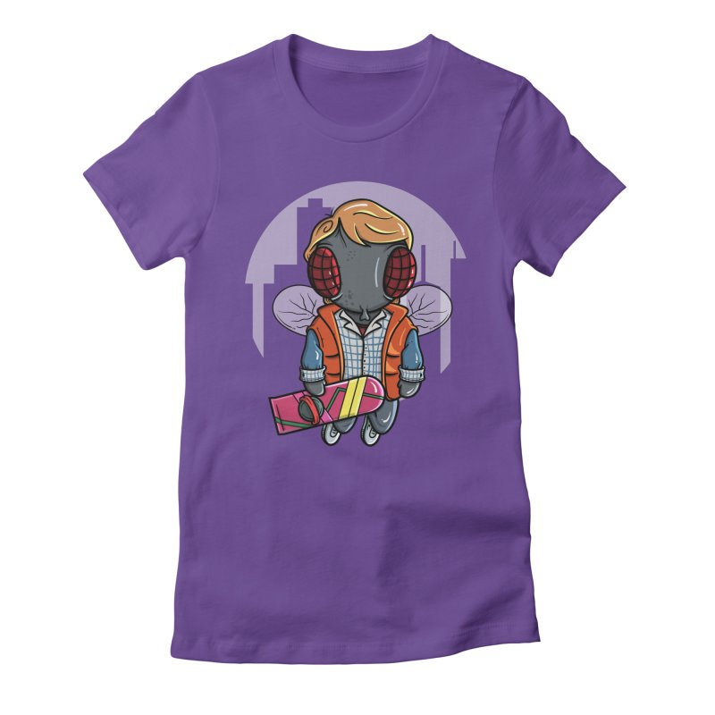 Marty McFly Women's Fitted T-Shirt by mebzart's Artist Shop
