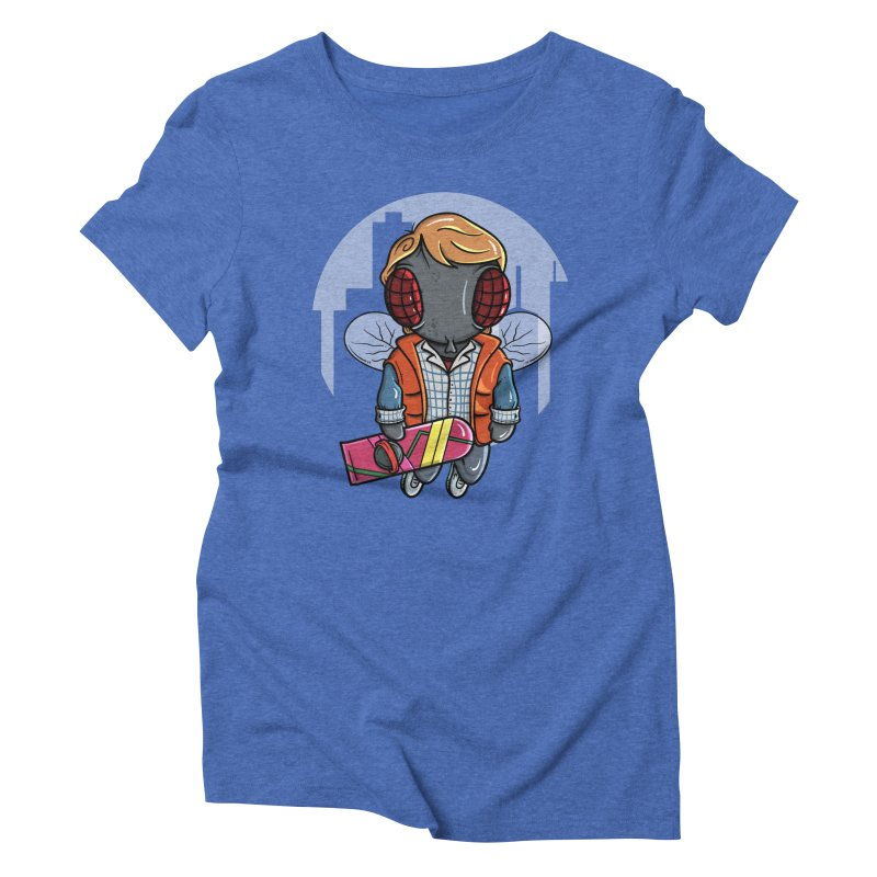 Marty McFly Women's Triblend T-Shirt by mebzart's Artist Shop