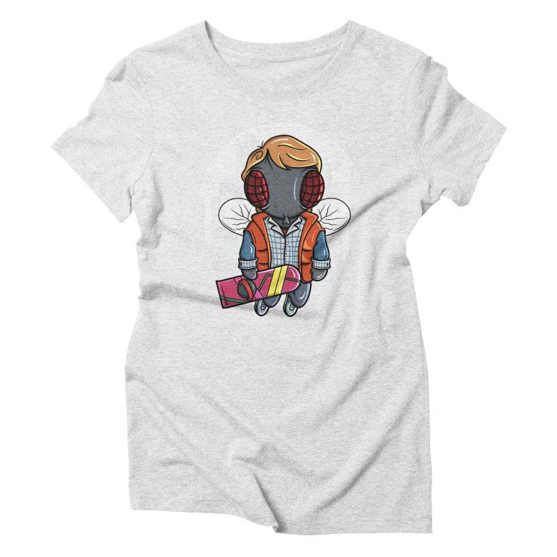 Marty McFly Women's T-Shirt by mebzart's Artist Shop